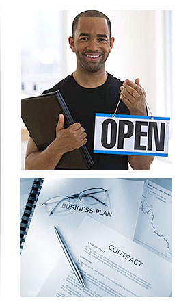 open a new business